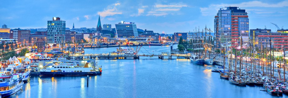 Sehenswürdigkeiten Kiel Hafen