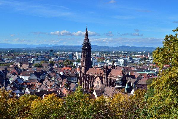 Urlaub in Freiburg