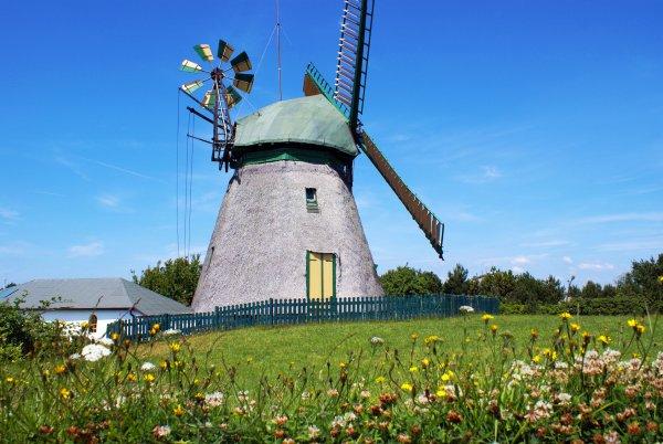 Alte Mühle auf Amrum