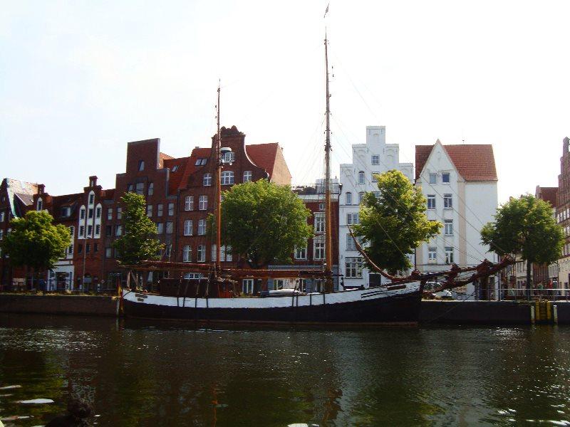 Museumshafen in Lübeck