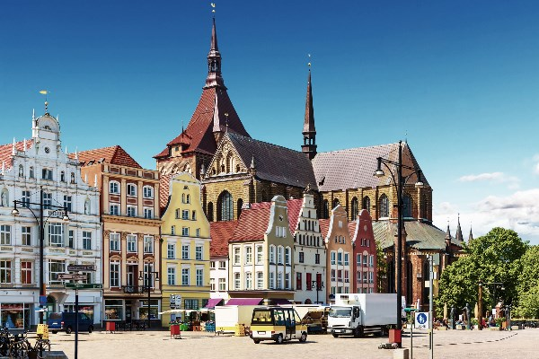 Rostocker Marktplatz