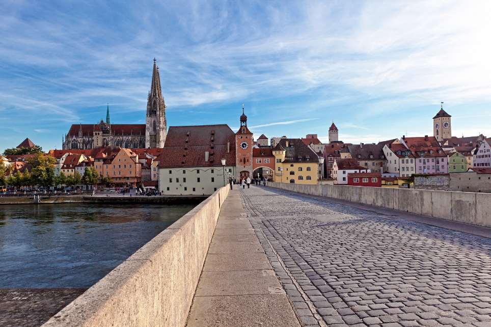 Regensburgs Altstadt