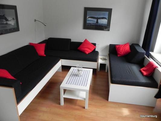 3-zimmer apartment elbschoner - mit w-lan (106148) - ferienwohnung, Hause deko