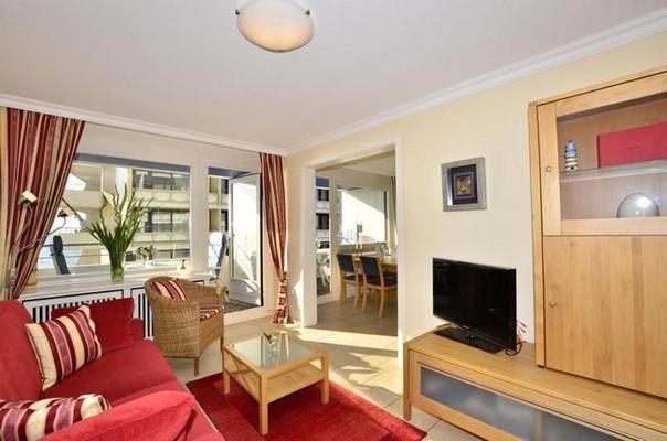 seeblick appartement haus am meer 3312 ferienwohnung westerland. Black Bedroom Furniture Sets. Home Design Ideas