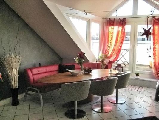 Traumblick über München mit Dachterrasse
