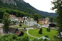 Blick auf Hohenschwangau