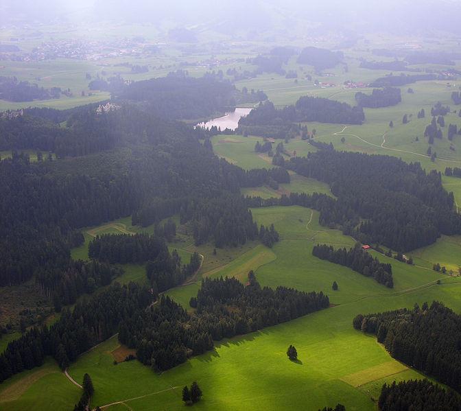 Landschaft bei Eisenberg