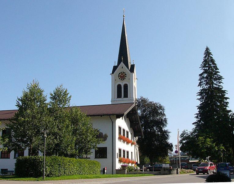 Kirche Maria Opferung in Riezlern