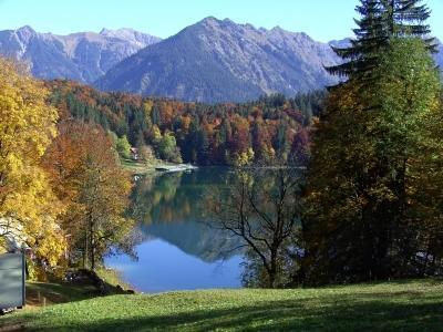 Freiberger See bei Oberstdorf