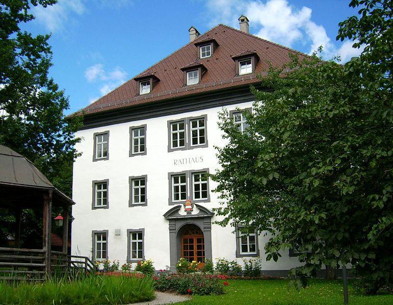 Rathaus in Bad Hindelang