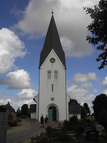 Die St. Clemens Kirche in Nebel