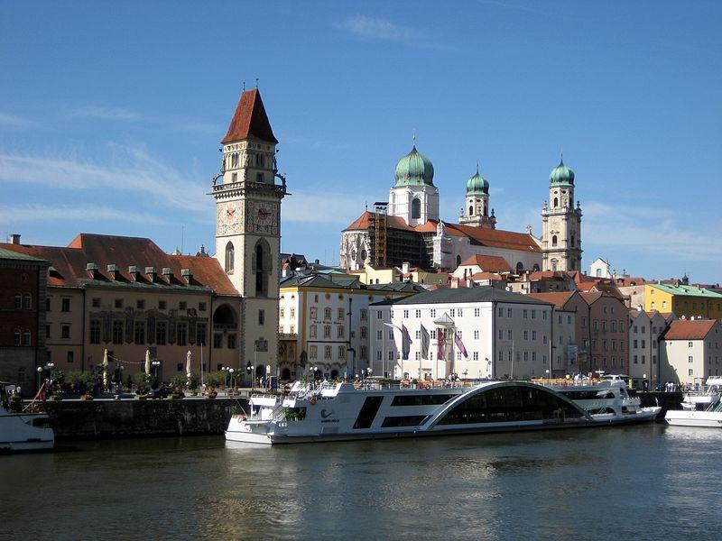 Passau im Bayerischen Wald