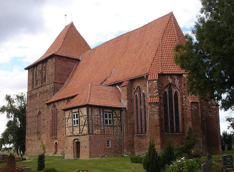 Gebäude der Kirche in Hohenkirchen