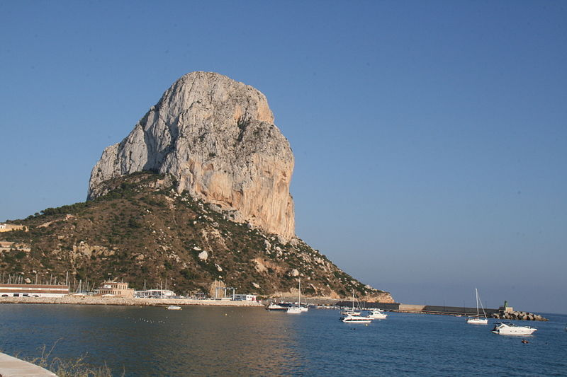 Pe&#xF1;on de Ifach calpe highlights