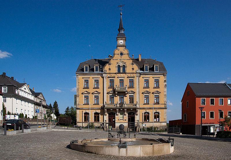 Rathaus in Rabenau