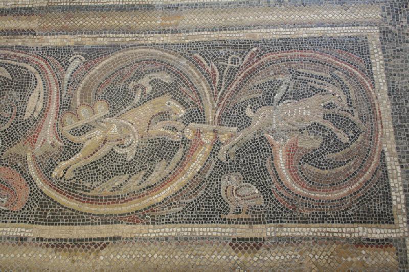Mosaik in der Villa Otrang