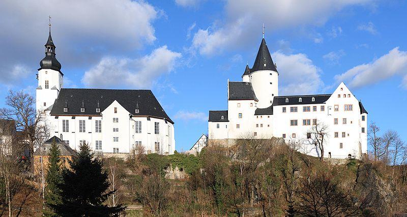 Schwarzenberg im Erzgebirge