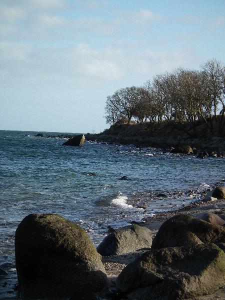 Steilküste bei Katharinenhof