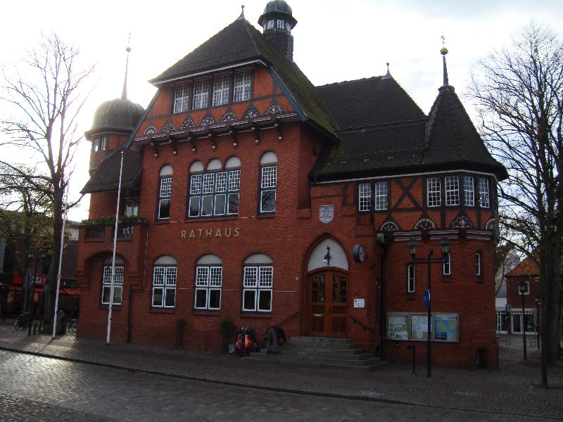 Rathaus in Burg auf Fehmarn