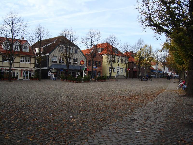 Marktplatz in Burg