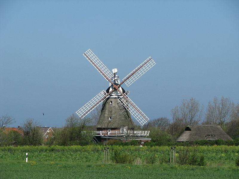 Windmühle in Oldsum
