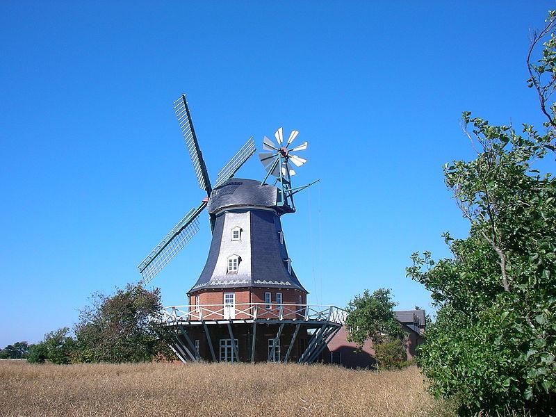 Windmühle in Borgsum