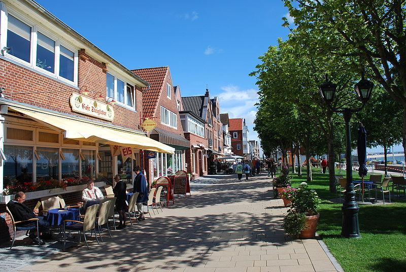 Strandwall in Wyk
