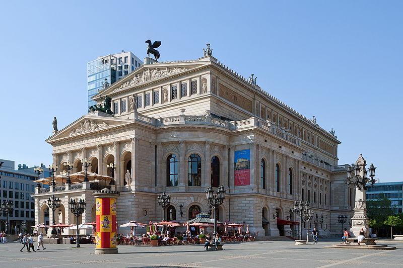 Die Alte Oper ist ein Konzert- und Veranstaltungshaus in Frankfurt