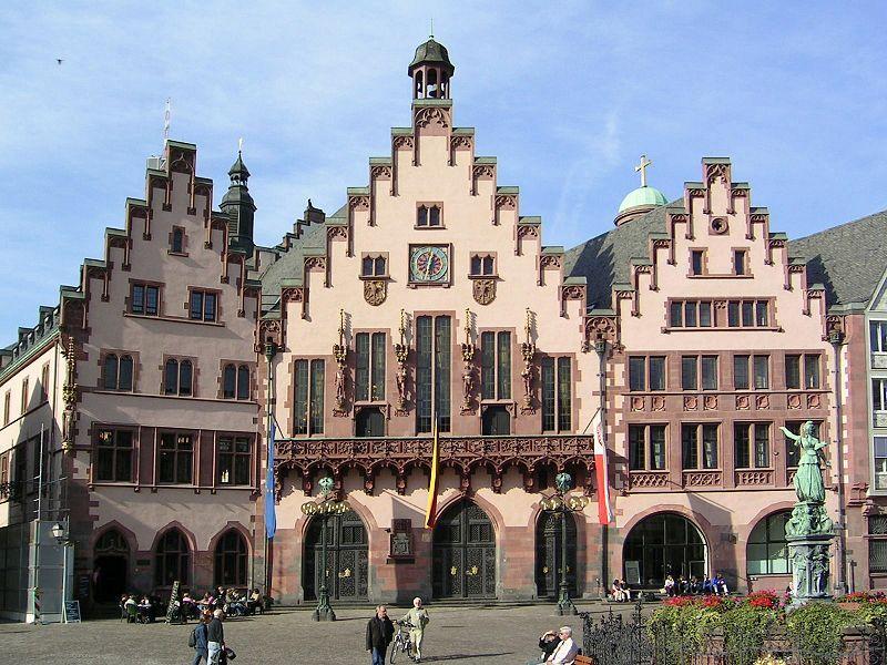 Der Römer ist das Rathaus der Stadt Frankfurt am Main