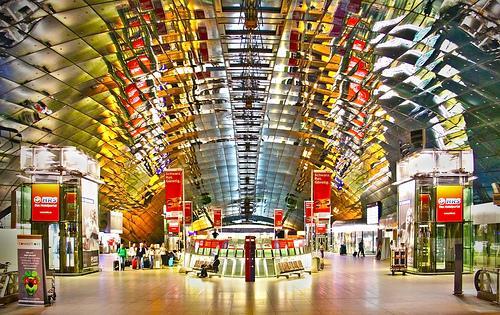 Frankfurt Flughafen Supermarkt