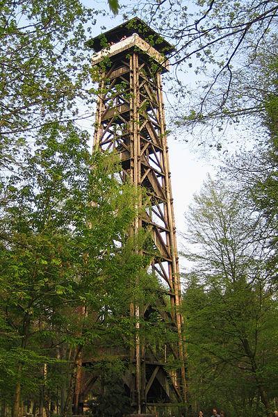 Der Goetheturm ist ein 43 Meter hoher Aussichtsturm, der einen tollen Blick über die Stadt bietet