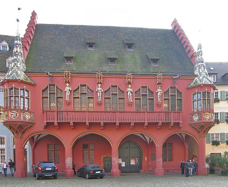 Historisches Kaufhaus in Freiburg