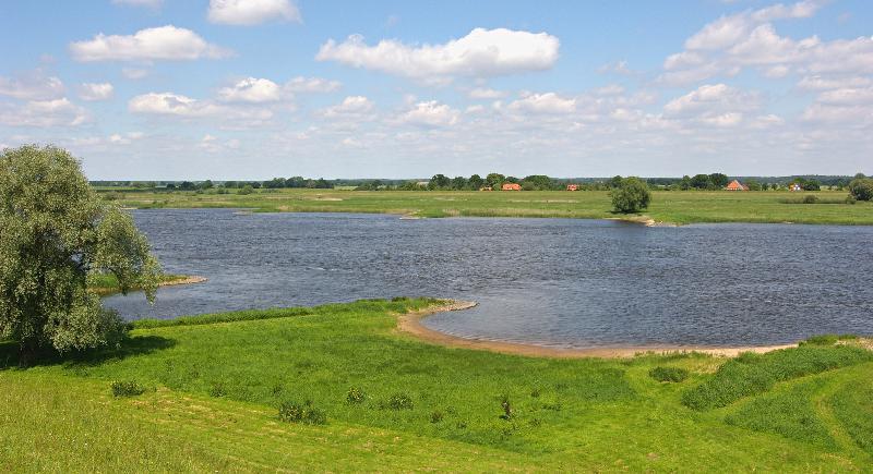 Elbe im Norden von Lüchow-Dannenberg