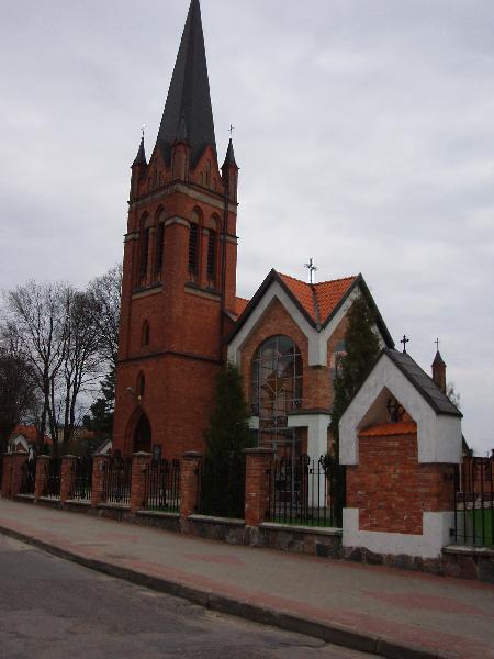 Die Kirche in Treuburg