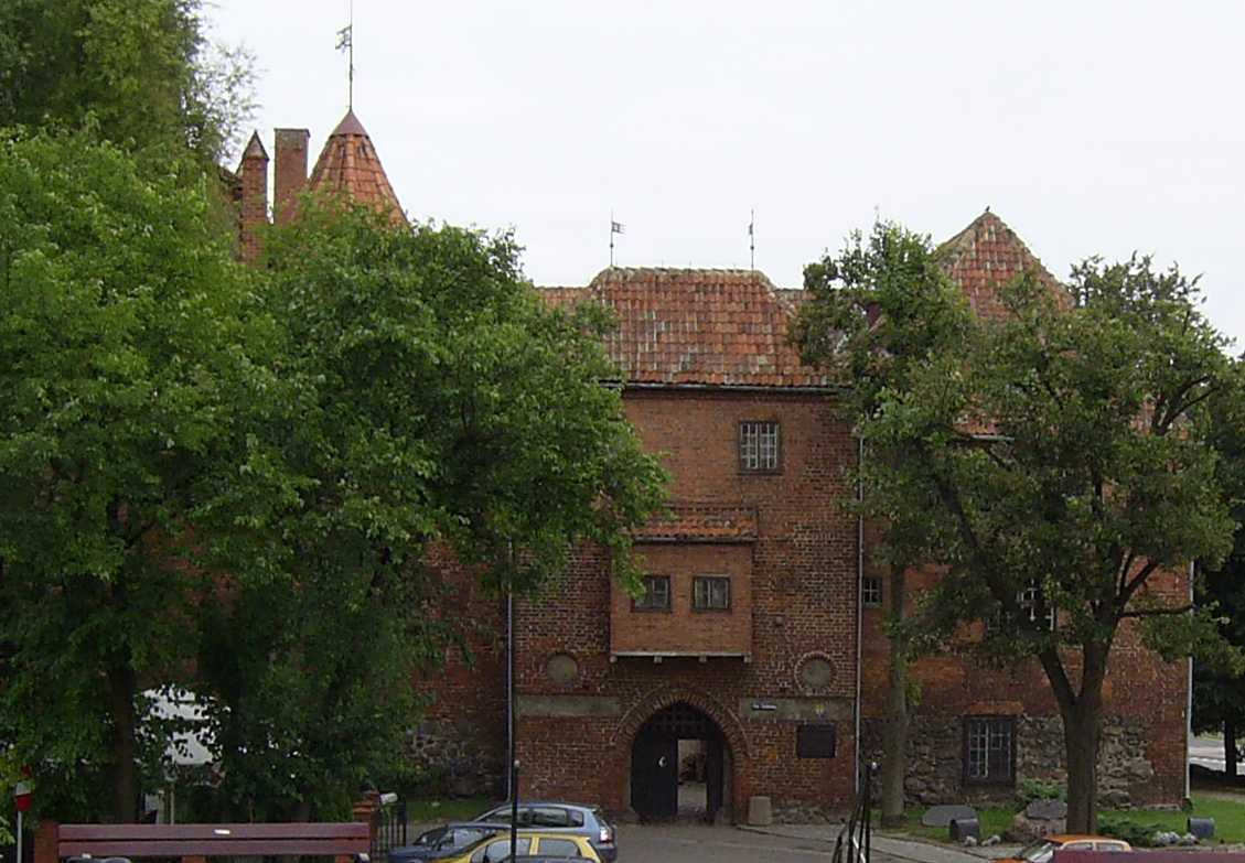 Die Burg in Rastenburg