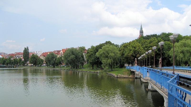 Panorama miasta Ełk