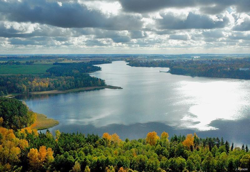 Olecko Jezioro Oleckie Wielkie