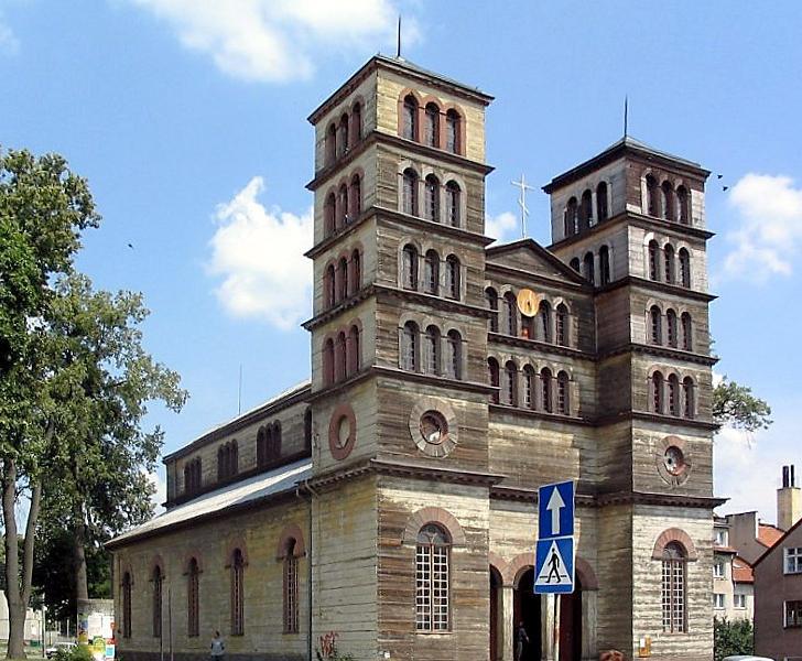 Lidzbark Warmiński - dawny kościół ewangelicki