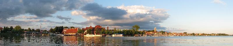 Mikołajki - panorama