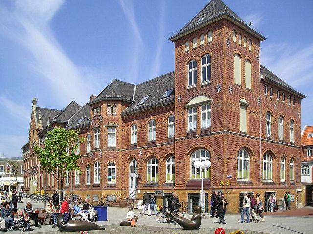 Das Kaiserliche Postamt von Norderney
