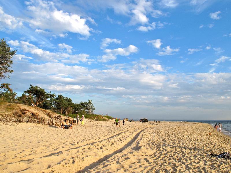 Halbinsel Hel - Strand
