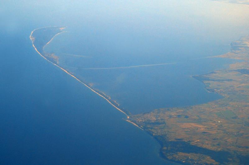 Halbinsel Hel aus der Luft