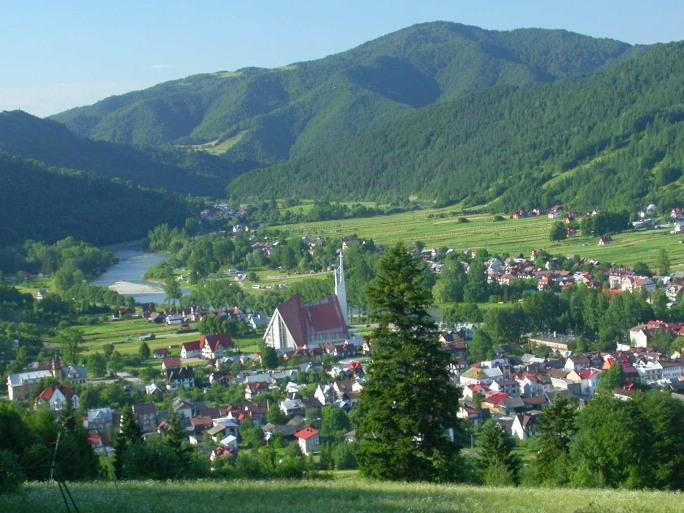 Beskidy - Dunajec i Krościenko
