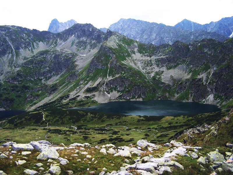Tatry - dolina 5 stawów (Morskie Oko i Czarny Staw)