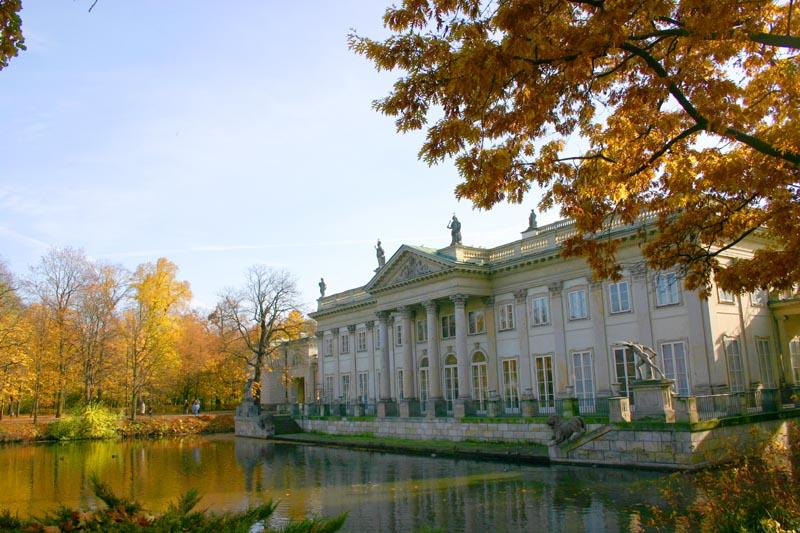 Warszawa - Pałac na Wodzie