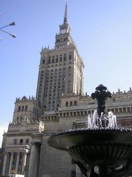 Warszawa - Pałac Kultury