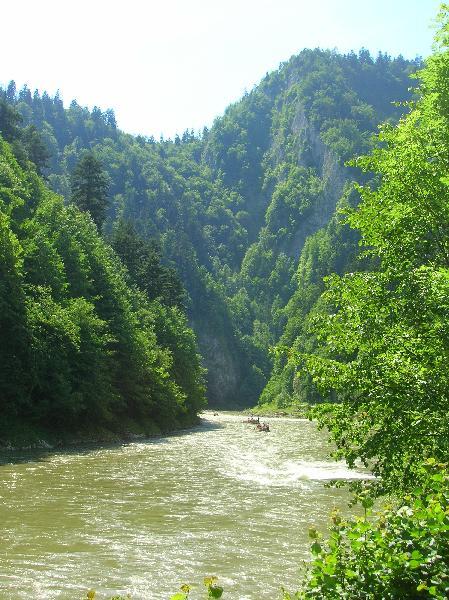 Pieniński Park Narodowy - Dunajec