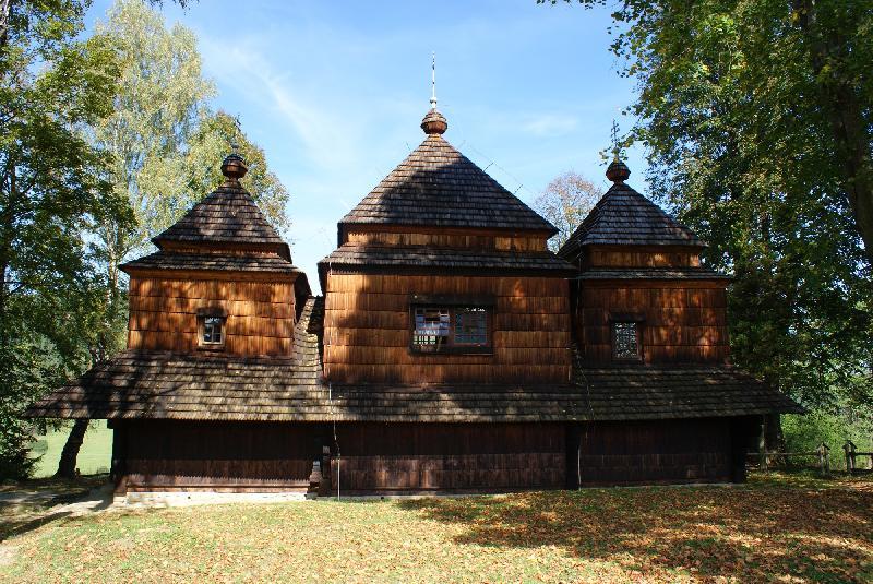 Holzkirche in Smolnik