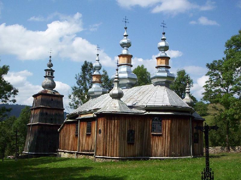 Holzkirche in Turzańsk