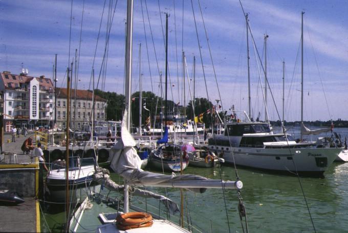 Yachthafen in Swinemünde